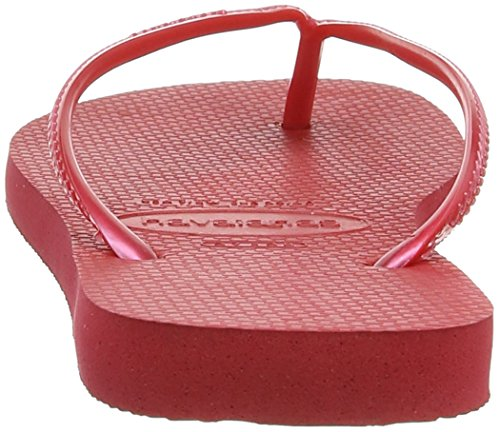 Havaianas Slim, Tongs fille Rouge (Red / 1440)