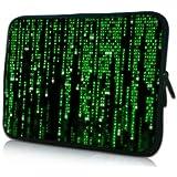 PEDEA Design Schutzhülle Notebook Tasche bis 13,3 Zoll (33,7cm), Matrix - gut und günstig