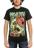 Parkway Drive - - Herren Sharktopus T-Shirt, XX-Large, Black