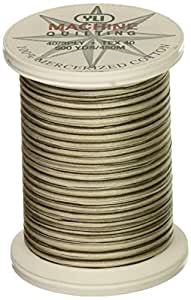 YLI 24450-V82 3-Ply 40wt T-40 Cotton Quilting Variegated Thread, 500 yd, Notre Dame Cathedral