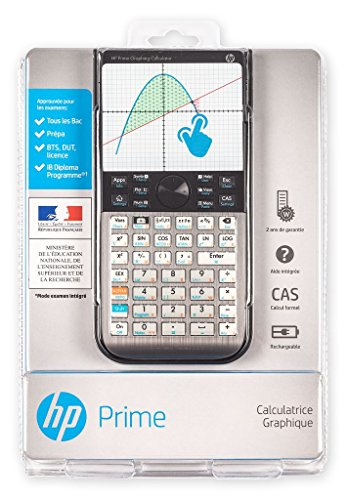 HP Prime Calculatrice graphique tactile mode examen