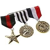 Cinta Broche Insignia Medalla de Cortina Disfraz Héroe para Partido de Cosplay