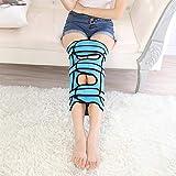 Leg Orthosis Verfügbar All Day O/X Typ Bein Beugte Beine Knie Valgum Richtungskorrektur Gürtel Band Körperhaltung Korrektor,Blue,S