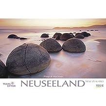 Neuseeland 2018: Großer Foto-Wandkalender mit Bildern vom anderen Ende der Welt. Travel Edition mit Jahres-Wandplaner. PhotoArt Panorama Querformat: 58x39 cm.