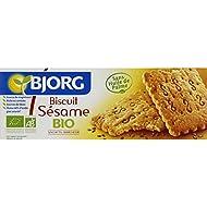 Bjorg - Biscuits Sésame, Magnésium, Riche En Céréale - (Prix Par Unité ) - Produit Bio Agrée Par AB