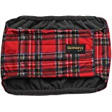 Male Dog Belly Waterproof Band Nappy - Size Small - Incontinency / House Training / Urine Marking - Tartan
