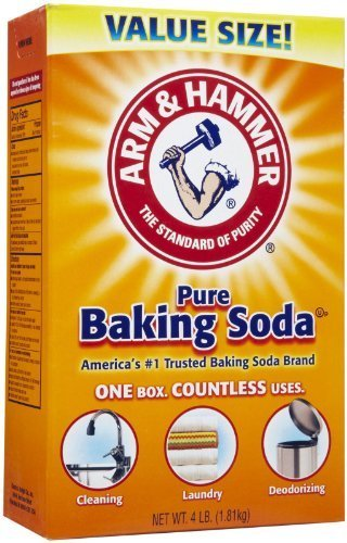 Arm & Hammer Baking Soda Value Size 4 Lb (Pack of 2) by Arm & Hammer