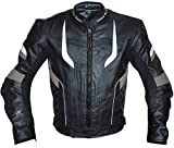 German Wear Motorradjacke Lederjacke Chopperjacke Cruiser
