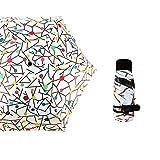 Pieghevole Ombrello Antivento Impermeabile Multiuso Viaggio Lavoro Ombrello Ombrello Tascabile con Protezione Solare Ombrello Parasole 50% colore17 90cm