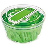 Best Salad Spinners - Zyliss Swift Dry Salad Spinner, Green, Large Review