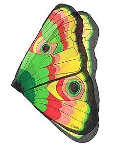 DREAMY DRESS-UPS XL 50564Amarillo Mariposa Alas para Niña (Talla única)