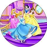 Tortenaufleger Prinzessin 04