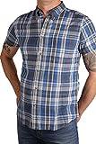 WRANGLER Hemd halbarm W5960MG05 Wrangler Blue: Kragenweite: 43/44-XL