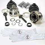 Autoparts-Online Set 60006199 2 x Gelenksatz Aantriebswelle + Achsmanschette + Zubehör für Vorne/für die Vorderachse