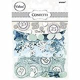 Amscan Konfetti Zum 25. Jahrestag Mix Value Pack, Silber
