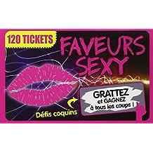 Faveurs sexy: 120 tickets. Défis coquins à gratter