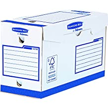 Fellowes Bankers Box - Caja de archivo definitivo extra resistente A4+, 150 mm, 20