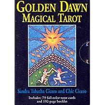 Golden Dawn Magical Tarot Deck by Sandra Tabatha Cicero (2000-05-06)