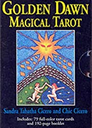 Golden Dawn Magical Tarot Deck by Sandra Tabatha Cicero (2000-05-06)