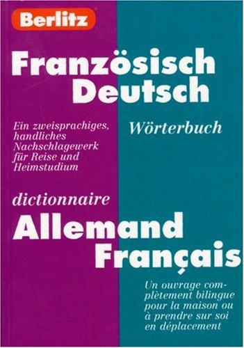 Dictionnaire allemand/français - allemand/français par Guide Berlitz