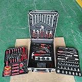 Werkzeugkoffer Universal Werkzeugkasten | Werkzeugkiste | Werkzeugtasche | Werkzeug Set | Werkzeug-Trolley | Chrom-Vanadium Stahl (944-flg)