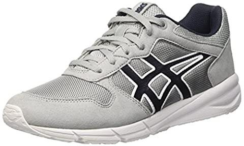 Asics Unisex-Erwachsene Shaw Runner Gymnastik, Grigio (Light Grey/India Ink), 40 1/2 EU