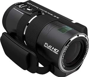 Rollei Movieline SD 230 Camcorder (5 Megapixel Kamera, 8,9 cm (3,5 Zoll) TFT-Display, Full HD, 23-fach optischer Zoom, USB 2.0) schwarz