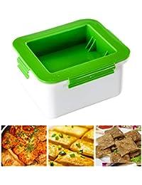 Ahagut Máquina para Hacer Tofu, Set para Hacer Tofu Máquina para Hacer cuajada de Soja de plástico Herramientas prácticas de Cocina