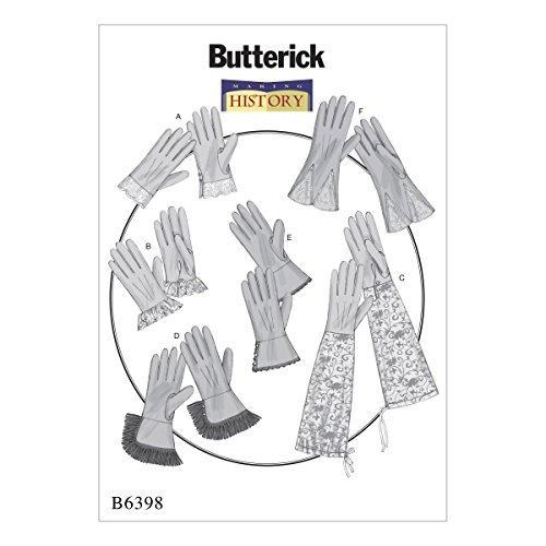 mccall-s-patterns-butterick-patterns-butterick-6398-os-patron-para-guantes-multicolor