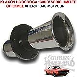 LCM2014 Le Plus Celebre Klaxon del mundo. hooooga 12V 130dB serie limitada CHROMEE. Sherif fais Moi miedo. Raid Preparation 4x 4