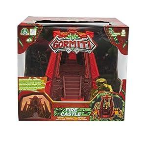 Giochi Preziosi Gormiti, Serie 2, Action Playset Fire Castle, con Figura de 5 cm incluida