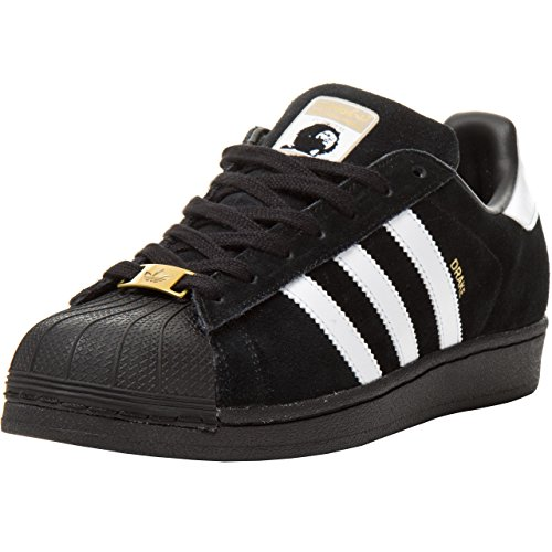 Adidas Superstar Foundation, Sneakers Unisex Adulto Schwarz (Core Black/Ftwr White/Core Black)