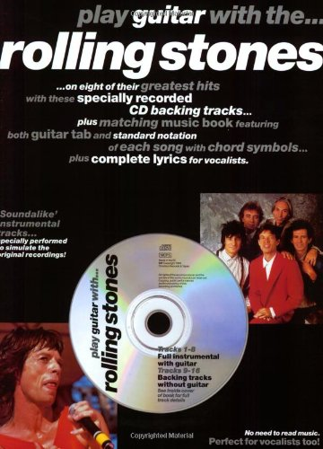 The Rolling Stones (Book & CD): Songbook, Bundle, CD, Tabulatur für Gitarre ()
