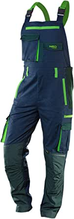 Neo Men PREMIUM Cotton Work Fishing Overall Bib Braces Dungarees Trousers Pants