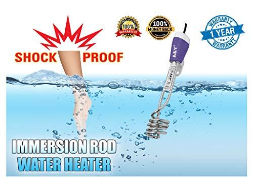 2000-W Shock Proof Metal Water Heater Immersion Rod, Silver