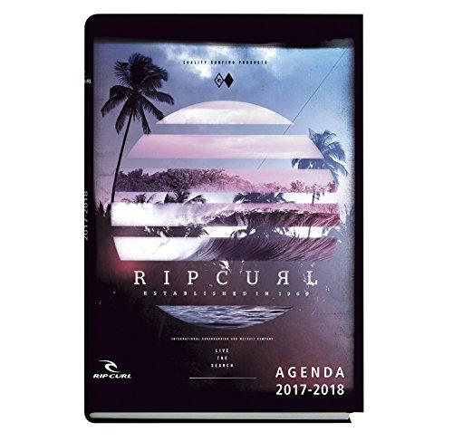 agenda-forum-journalier-rip-curl-12x17-cm-aout-2017-a-juillet-2018-visuel-live-the-search