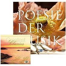 Geschenkbuch: Poesie der Musik - CD Greatest Classics mit Bildband mit Naturfotos und Zitaten zur Musik, von Goethe, Shakespeare, Platon, Konfuzius...