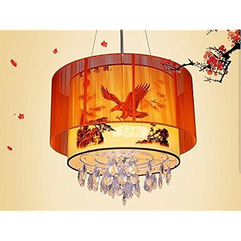 CHJK BRIHT Cinese spazzolato semplice pergamena illumina Ciondolo idilliaco teahouse soggiorno l'hotel ristorante engineering