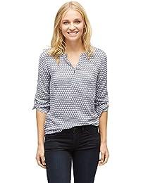TOM TAILOR Shirt/Blouse Gemusterte Bluse