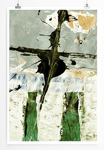 Million Dollar Bill - modernes abstraktes Bild Sinus Art - Bilder, Poster und Kunstdrucke