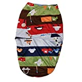 #7: Baby Bucket Carter's Just For you Baby Swaddle Wrap Soft Envelope for Newborn- Transport (Green)