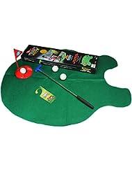 Bazaar Wc salle de bains mat mini-golf définir la pratique de jeu cadeau mastic potier