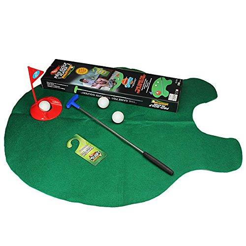 Bazaar WC Bad Mini golf Matten Set Spielpraxis Kitt potter Geschenk