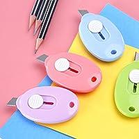 Fengh Mini cortador cortador de caja retráctil Razor (color al azar)