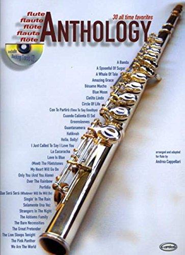 30 All Time Favourites Anthology Volume 1 Flute Book/Cd (Anthology (Cappellari))