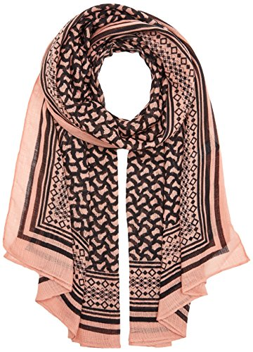 PIECES Damen Schal Pcnelly Long Scarf, Mehrfarbig (Rose Tan), One Size