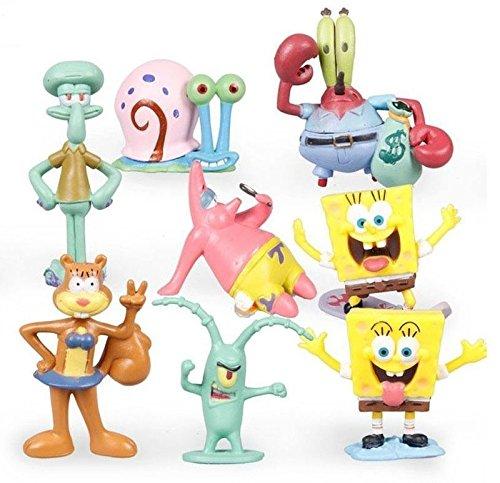 bob-esponja-sponge-bob-pack-8-mini-figuras-pvc