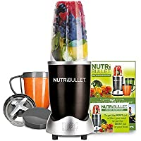 NutriBullet 600 Series Blender, 600 W, 8-Piece set, Black