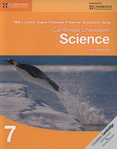 Cambridge checkpoint science. Coursebook. Per le Scuole superiori. Con espansione online: 7 (Cambridge International Examin)