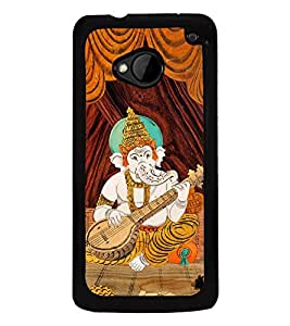 Fuson Designer Back Case Cover for HTC M7 :: HTC One M7 (Veena vinikadu Ganesh Vignesh bala ganesh)